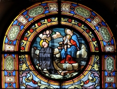 Eglise Saint-Nicolas et Saint-Marc - English: Stained glass windows in the church of Saint-Nicolas-et-Saint-Marc,  Ville-d'Avray, department of Hauts-de-Seine in France.