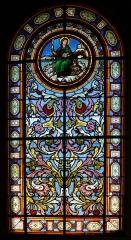 Eglise Saint-Nicolas et Saint-Marc - English: Stained glass windows in the church of Saint-Nicolas-et-Saint-Marc,  Ville-d'Avray, department of Hauts-de-Seine in France.
