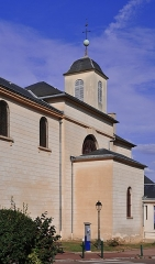 Eglise Saint-Nicolas et Saint-Marc - English: Church of Saint-Nicolas-et-Saint-Marc in Ville-d'Avray, department of Hauts-de-Seine,  France, classified as historical monument by the French Ministry of Culture.