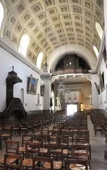Eglise Saint-Nicolas et Saint-Marc - English: Church interior of Saint-Nicolas-et-Saint-Marc church in Ville-d'Avray, Hauts-de-Seine department, in France.