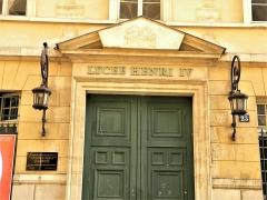 Ancienne abbaye Sainte-Geneviève, actuel lycée Henri IV - Français:   Paris, France. LICEE HENRY-IV. Rue Clovis. (PA00088391)