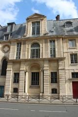 Ancienne abbaye Sainte-Geneviève, actuel lycée Henri IV - English:   Lycée Henri IV as seen from Clotilde street in Paris, France in 2014.