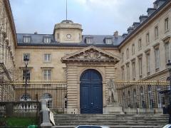 Collège de France - English: The Collège de France in Paris, main entrance