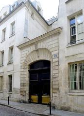 Ancien couvent des Dames Bénédictines du Saint-Sacrement - English: Tournefort street - Paris