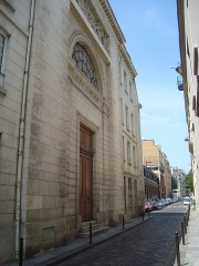 Ancien couvent des Dames Bénédictines du Saint-Sacrement - English: Chapel of the Congrégation du Saint-Esprit at 30, rue Lhomond in Paris