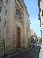 Ancien couvent des Dames Bénédictines du Saint-Sacrement - English: Chapel of the Congrégation du Saint-Esprit at 30, rue Lhomond in Paris