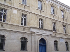 Couvent des Feuillantines - English: View of the public school at rue des Feuillantines in Paris, where both Louis Pasteur and Victor Hugo attended when child (the school was then a religious covent)
