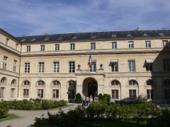 Ecole polytechnique  (Voir aussi : Enceinte de Philippe-Auguste) - Paris - pavillon Boncourt