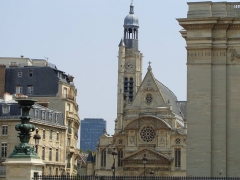 Eglise Saint-Etienne-du-Mont -  Église Saint-Étienne-du-Mont, July 2013