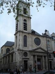 Eglise Saint-Jacques-du-Haut-Pas - French architect