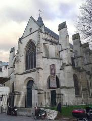 Eglise Saint-Médard - Français:   Église Saint-Médard  - Paris V