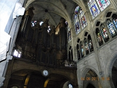Eglise Saint-Séverin - English: Paris, France. EGLISE SAINT-SEVERIN. (stained glass window) (PA00088419)