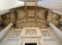 Ancienne église Sainte-Geneviève, devenue Le Panthéon - English: EntrancePanthéon, Paris