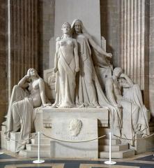 Ancienne église Sainte-Geneviève, devenue Le Panthéon - English: Panthéon, monument to Denis Diderot