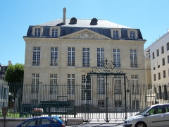 Hôtel Le Brun - English: View of the Hôtel Le Brun at rue du Cardinal-Lemoine in Paris after its renovation in 2010/2011