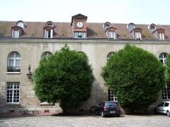 Ancien hôtel Scipion ou ancienne boulangerie des Hôpitaux de Paris - English: Inyard of the Hôtel de Scipion in Paris at rue Scipion