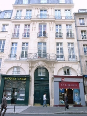 Immeuble -  House of Lepas-Dubuisson at 151 bis rue Saint-Jacques,Paris. Built from 1718 onwards by and for Charles-Nicolas Lepas-Dubuisson