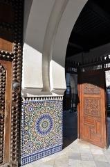 Mosquée de Paris et Institut musulman - English: Main entrance to the Grande Mosquée de Paris in the 5th arrondissemnet of Paris, France.