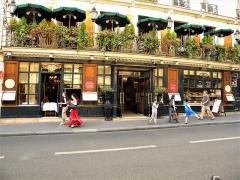 Café Le Procope - Français:   Paris, France. Restaurant LE PROCOPE (Entrance)(PA00088496)