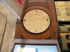 Café Le Procope - Français:   Paris, France. Restaurant LE PROCOPE (Sigla)(PA00088496)