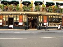 Café Le Procope - Français:   Paris, France. Restaurant LE PROCOPE (Entrance-2) (PA00088496)