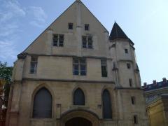 Ancien couvent des Cordeliers, actuellement Musée Dupuytren - Façade du réfectoire du couvent des Cordeliers de Paris