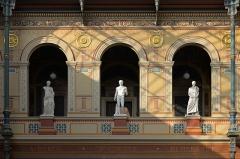 Ecole Nationale Supérieure des Beaux-Arts (ancien couvent des Grands Augustins) - English: Sculptures in the Palais des Etudes, École nationale supérieure des beaux-arts, Paris.