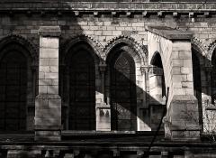 Eglise Saint-Germain-des-Prés - Eglise Saint-Germain-des-Prés (arc-boutants sud) - Paris VI          This building is en partie classé, en partie inscrit au titre des Monuments Historiques. It is indexed in the Base Mérimée, a database of architectural heritage maintained by the French Ministry of Culture,under the references PA00088489   and PA00088509 .  বাংলা| brezhoneg| català| Deutsch| Ελληνικά| English| Esperanto| español| euskara| suomi| français| magyar| italiano| 日本語| македонски| Nederlands| português| português do Brasil| română| русский| sicilianu| svenska| українська| +/−