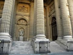 Eglise Saint-Sulpice - English: Paris, France. Saint-Sulpice Church. (Columns)(PA00088510)