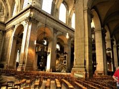Eglise Saint-Sulpice - English: Paris, France. Saint-Sulpice Church. (PA00088510)(Interior)