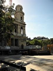Eglise Saint-Sulpice - English: Paris, France. Saint-Sulpice Church. (detail) (PA00088510)