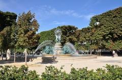 Fontaine de Carpeaux - English: Fontaine de l'Observatoire in the 6th arrondissement of Paris in France.