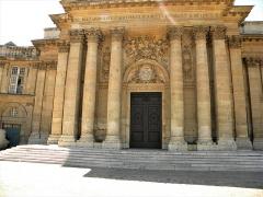 Palais de l'Institut (ancien collège des Quatre-Nations) - English: Paris, France. INSTITUTE DE FRANCE (Academie francaise) (Detail 9) (PA00088652)