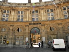 Palais de l'Institut (ancien collège des Quatre-Nations) - English: Paris, France. INSTITUTE DE FRANCE (Academie francaise) (10) (PA00088652)