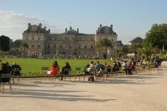 Palais du Luxembourg, actuellement Sénat -  Париж, Франция. Май 2012 Paris, France. May 2012