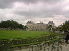 Palais du Luxembourg, actuellement Sénat - Jardin du Palais du Luxembourg