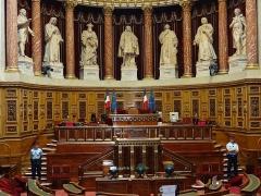 Palais du Luxembourg, actuellement Sénat - Palais du Luxembourg