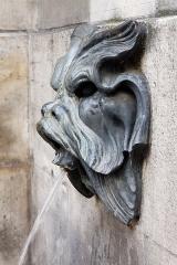 Fontaine des Quatre-Saisons - Español: La Fuente de las 4 estaciones calle de Grenelle nro 59, como monumento histórico
