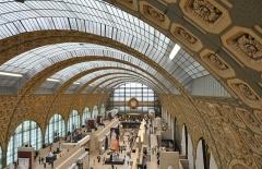 Ancienne gare d'Orsay, actuellement musée d'Orsay - English: Musée d'Orsay in Paris, 7th arrondissement, France.