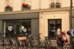 Horlogerie - English: Watchmaker's shop located at n° 93 rue Saint-Dominique in the 7th district of Paris, France