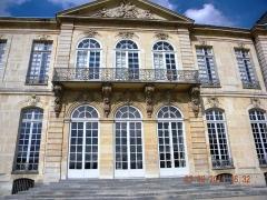 Ancien hôtel de Biron ou ancien hôtel du Maine, actuellement musée Rodin - Paris, France, Hotel Biron (actual musee Rodin) (facade, detail)