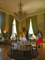 Anciens hôtels de Brienne et de Broglie, actuellement ministère de la défense - Salle à manger de l'Hôtel de Brienne