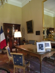 Anciens hôtels de Brienne et de Broglie, actuellement ministère de la défense - Salon De Gaulle de l'Hôtel de Brienne