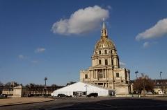 Hôtel des Invalides -  Vue du dôme des Invalides.