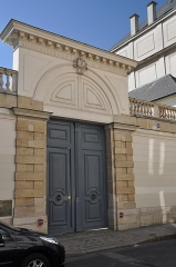 Hôtel de Jarnac - Français:   Hôtel de Jarnac, the mansion located at  8 rue Monsieur in the 7th arrondissement of Paris in France. Built in 1784 the building is listed as a historical monument by the French Ministry of Culture.