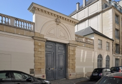 Hôtel de Jarnac - English: Hôtel de Jarnac, the mansion located at  8 rue Monsieur in the 7th arrondissement of Paris in France. Built in 1784 the building is listed as a historical monument by the French Ministry of Culture.