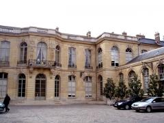 Ancien hôtel Matignon -  Le perron de l'Hôtel de Matignon