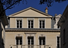 Hôtel de Richepanse - Français:   Hôtel de Richepanse located at 3, 5 rue Masseran in the 7th arrondissement of Paris in France. The building is classified as a historical monument by the French Ministry of Culture.