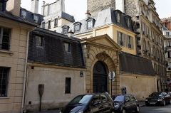 Ancien hôtel de Tavannes -  Un monument historique dans le 7ème arrondissement de Paris.