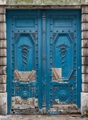 Hôtel  , dit hôtel d'Auterive ou de Saint-Simon - English: The left portal of the